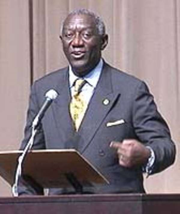 President Kufuor On State Visit To Mali